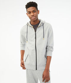 Aeropostale Tech Fleece Full-Zip Hoodie