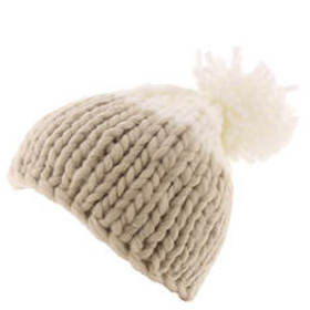 Free People Women's Cozy Up Color Block Pom Beanie