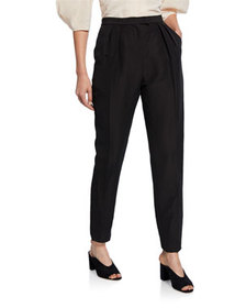Rachel Comey New Joust Pleated High-Waist Pants