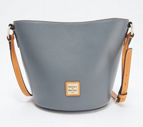 """As Is"" Dooney & Bourke Smooth Leather Small Thea"