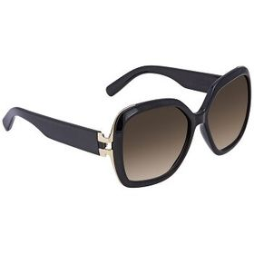 FerragamoBrown Gradient Square Sunglasses