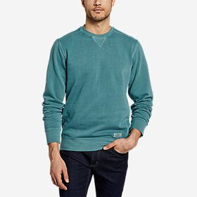 Men's Camp Fleece Riverwash Crew