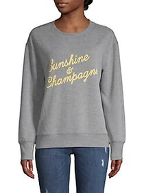 C&C California Graphic Cotton-Blend Sweatshirt MED
