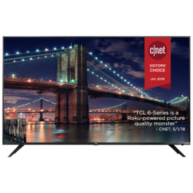 TCL 55 inch Class 6-Series 4K UHD Dolby Vision HDR
