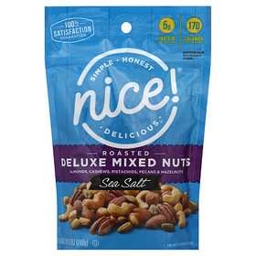 Walgreens Roasted & Salted Mixed Deluxe Nuts