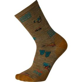 Smartwool Beach Day Crew Sock - Men's