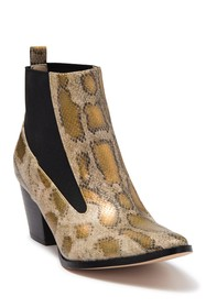 Coconuts By Matisse HFT Kyoto Snake Print Bootie