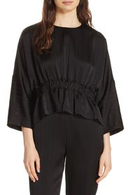 Ted Baker London Cropped Ruched Blouse
