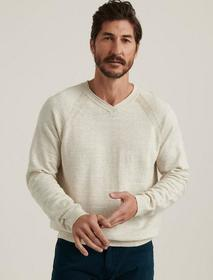 Lucky Brand Welterweight V-neck Sweater