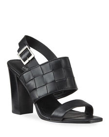 Charles by Charles David Maison Woven Leather Slin