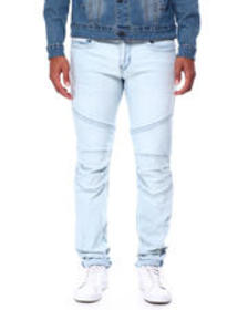 True Religion rocco moto no flap cold blue wash je