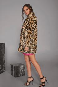 Nasty Gal Wild Heart Leopard Faux Fur Coat