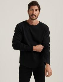 Lucky Brand Brushed Thermal Crew
