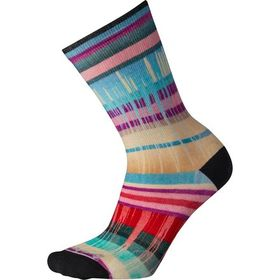 Smartwool Curated Drippy Stripes Crew Sock - Women
