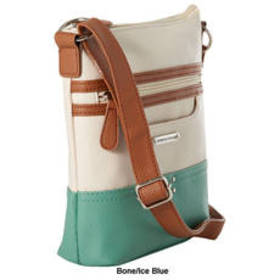 Stone Mountain Tri-Color Pebble Crossbody