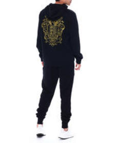 True Religion embroidered pull over hoodie