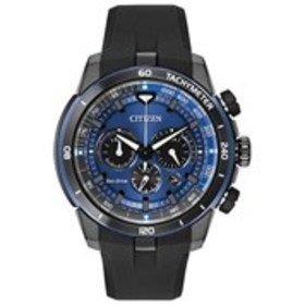 CITIZEN Citizen Eco-Drive Mens Textured Dial Blue