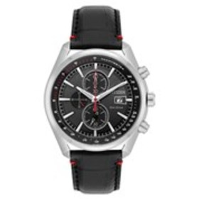 CITIZEN Citizen Eco-Drive Mens Black Dial Chronogr