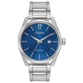 CITIZEN Citizen Eco-Drive Mens Blue Dial Stainless