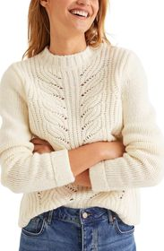 BODEN Claire Cable Knit Sweater