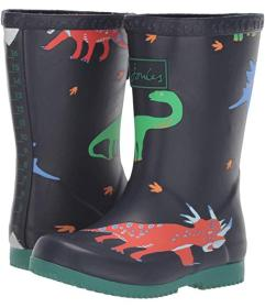 Joules Kids Printed Welly Rain Boot (Toddler\u002F