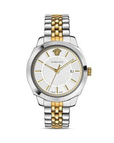 Versace - Icon Classic Two-Tone Watch, 42mm