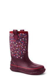 Lands End Toddlers Insulated Waterproof Rain Boots
