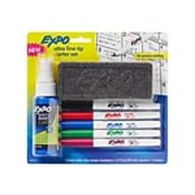 Expo Dry Erase Markers, Ultra Fine Tip, Assorted I