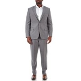 NAUTICA Mens Grey Textured Active Stretch 2-Piece