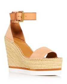 See by Chloé - Women's Glyn Leather Espadrille Pla