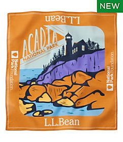 LL Bean Adults' L.L.Bean Cotton Bandana, National