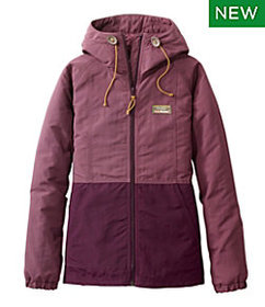LL Bean Women's Mountain Classic Insulated Jacket,