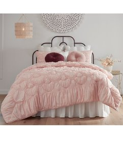 Studio D Melody Ruched and Ruffled Comforter Mini