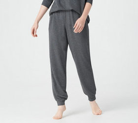 Quacker Factory Petite Anytime Jogger Pants with F