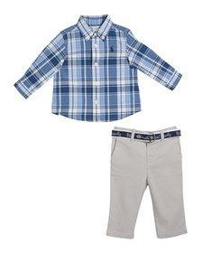 Ralph Lauren Childrenswear Boy's Plaid Button-Down
