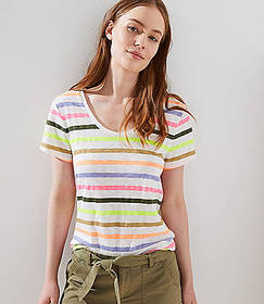 Striped Vintage Soft Tee