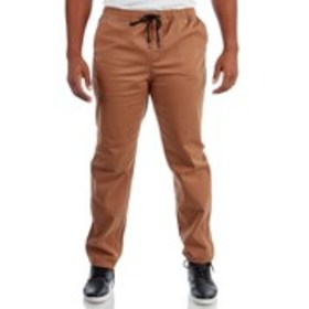LIRA Mens 4-Pocket Drawstring Twill Joggers