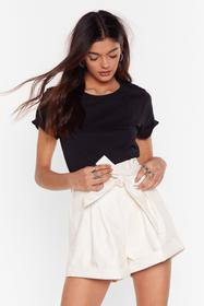 Nasty Gal White What Are You Waiting For Patent Pa