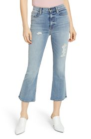 HUDSON Jeans Holly High Rise Cropped Flare Jeans