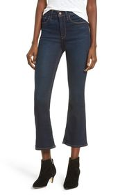HUDSON Jeans Holly High Waist Crop Flare Jeans