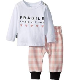 TINY TRIBE With Care Tee Sweatpants Set (Infant)