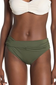 Tommy Bahama Pearl High Waist Twisted Bikini Botto