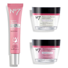 No7 Restore and Renew Multi Action Skincare System