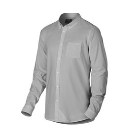 Oakley Long Sleeve Solid Woven Shirt - Stone Gray