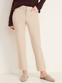 All-New Mid-Rise Pixie Straight-Leg Ankle Pants fo