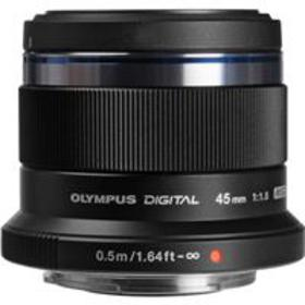 Olympus M. Zuiko Digital 45mm f/1.8 Lens for Micro
