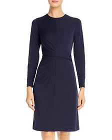 Elie Tahari - Winda Ruched Jersey Dress