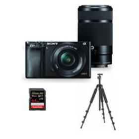 Sony Alpha A6000 Mirrorless with 16-50mm & 55-210m