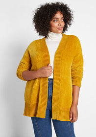 ModCloth ModCloth All About Hue Chenille Cardigan