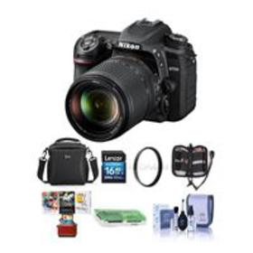 Nikon D7500 DSLR with 18-140mm VR Lens - With Free